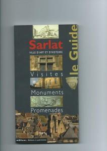 couv sarlat ville d'art et d'histoire
