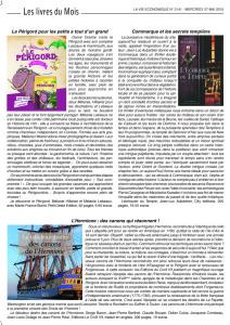 article Echiquier La Vie Economique.