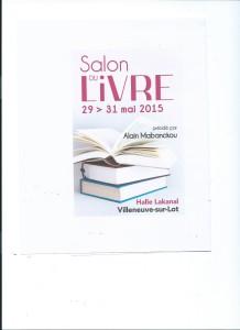 affiche villeneuve salon 2015