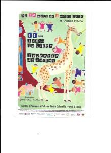 programme salon livre jeunesse Sarlat 2016