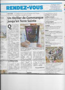 article Dordogne Libre Echiquier.